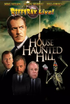 rifftrax live house on haunted hill